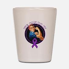 Epilepsy We Can Do It Shot Glass