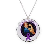 Epilepsy We Can Do It Necklace