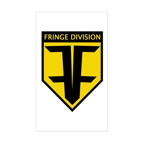 Future Fringe Division Logo Sticker (Rectangle)