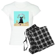 Scottish Terrier Summer Pajamas