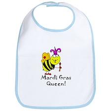 Mardi GRAS Queen Bib