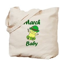 March Baby Tote Bag