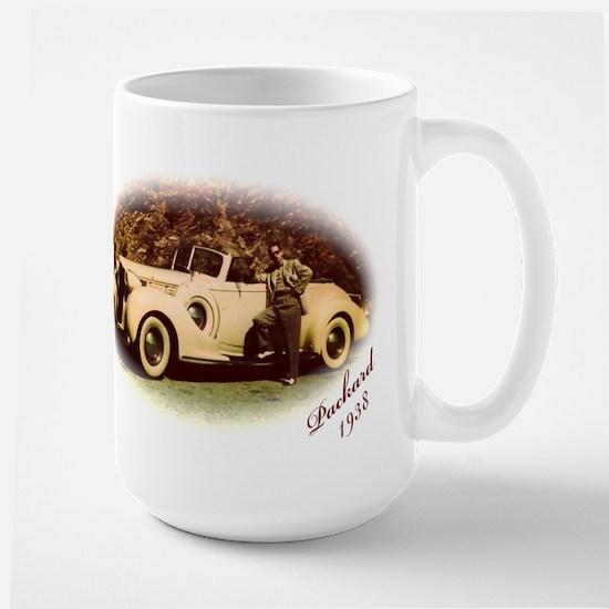 Yellow Packard Large Mug