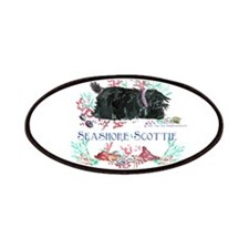 Seashore Scottie Island Dog Patches