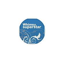 Whimsy Superstar Mini Button