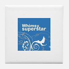 Whimsy Superstar Tile Coaster