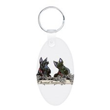 Lilac Scottish Terriers Keychains