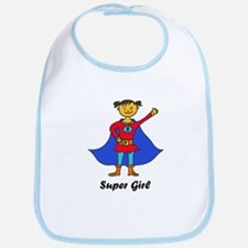 Super Girl Bib