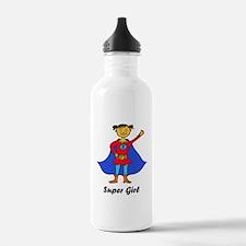 Super Girl Water Bottle