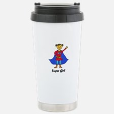 Super Girl Stainless Steel Travel Mug
