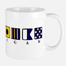 Nautical Michigan Mug