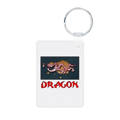 Dragon 2 - Aluminum Photo Keychain