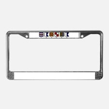 Lake Cayuga License Plate Frame