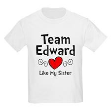Heart Red Ed Sis T-Shirt