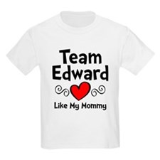 Heart Red Ed Mom T-Shirt