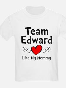 Heart Red Ed Mom T-Shirt