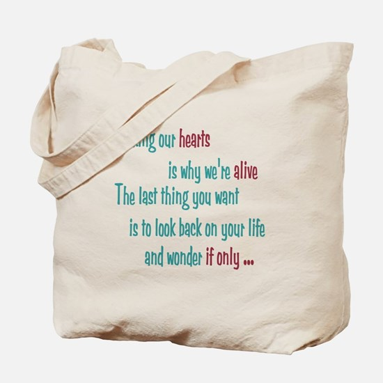 Castle: Risking Our Hearts Tote Bag