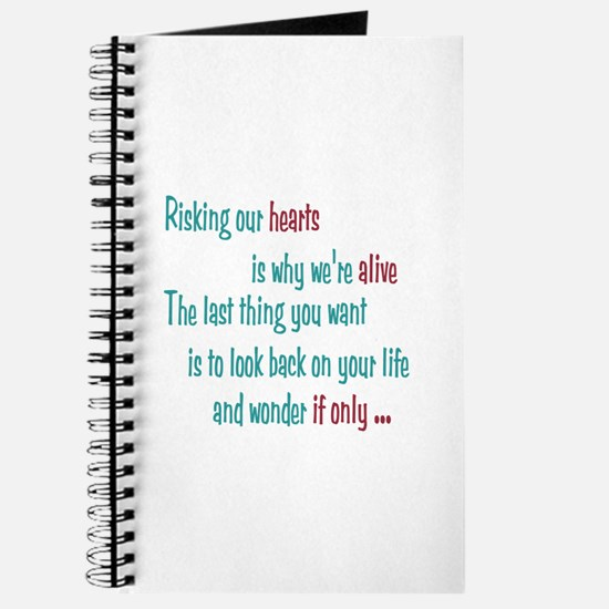 Castle: Risking Our Hearts Journal