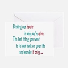 Castle: Risking Our Hearts Greeting Card