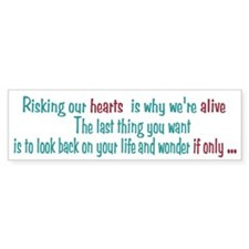 Castle: Risking Our Hearts Bumper Sticker