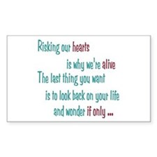 Castle: Risking Our Hearts Decal