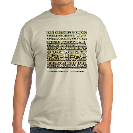 Federal Spending Light T-Shirt