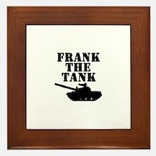 Frank The Tank Framed Tile