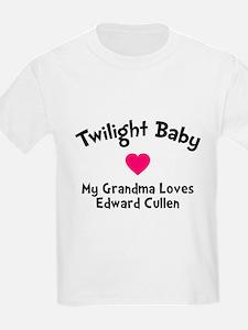 Heart TwiBaby Grandma T-Shirt