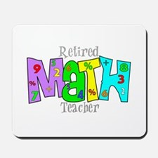 Retired Teacher II Mousepad