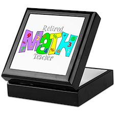 Retired Teacher II Keepsake Box