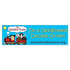 "DRC ""Doodle Train"" Bumper Car Sticker"