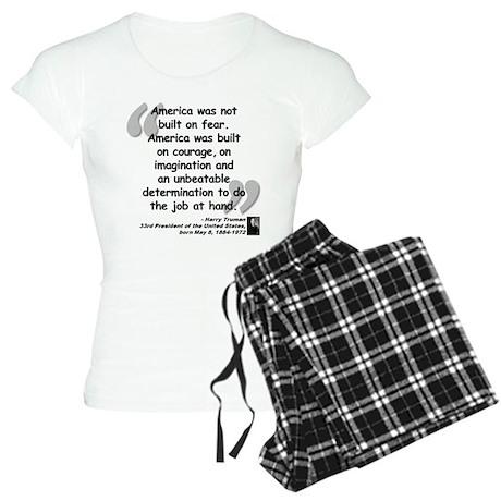 Truman Courage Women's Light Pajamas
