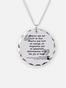 Truman Courage Necklace
