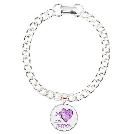 Dancing Passion Charm Bracelet, One Charm
