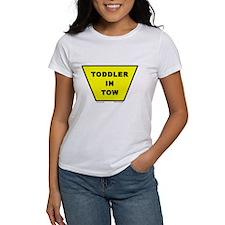 Toddler in Tow women's T-shirt