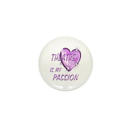 Theatre Passion Mini Button (10 pack)