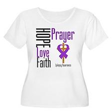 Epilepsy Hope Cross T-Shirt