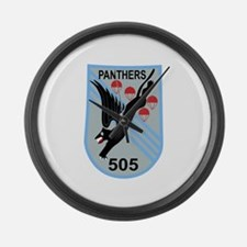 Funny 505 Large Wall Clock