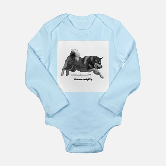 Malamute Agility Long Sleeve Infant Bodysuit