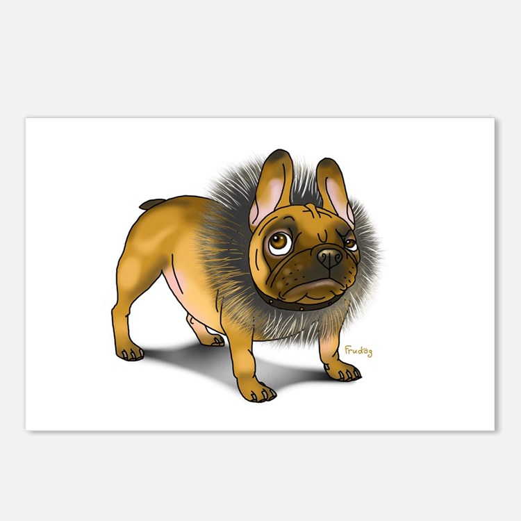 Cute Frenchie Postcards (Package of 8)