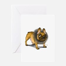 Cool Frenchie Greeting Card