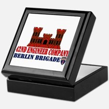 42nd Engineer Company Keepsake Box