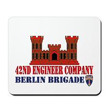 42nd Engineer Company Mousepad