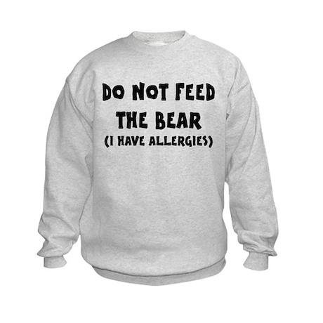 I Have Allergies Kids Sweatshirt