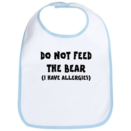 I Have Allergies Bib