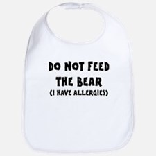 I Have Allergies Bib