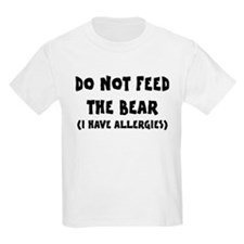 I Have Allergies T-Shirt