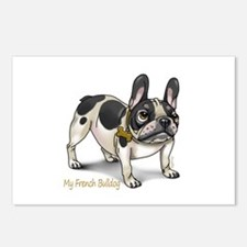 Unique Frenchie Postcards (Package of 8)