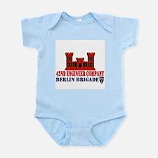 42nd Engineer Company Infant Bodysuit