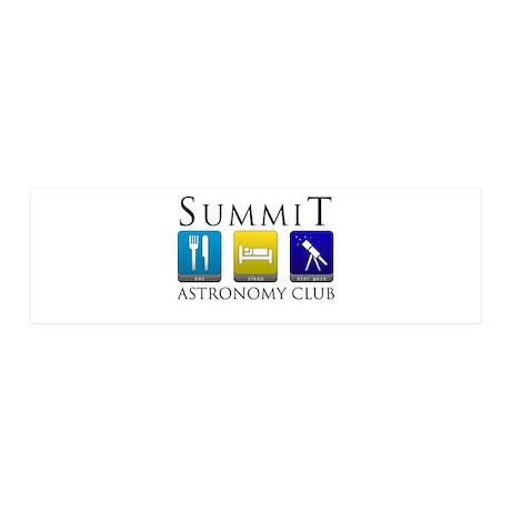 Summit Astronomy Club - Starg 42x14 Wall Peel